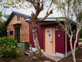 tai_tai STUDIO Wooden houses Iron/Steel Red