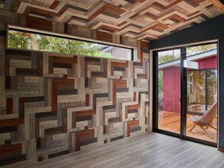tai_tai STUDIO Rustic style bedroom Wood Multicolored