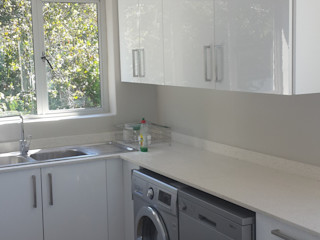 Complete Flat Overhaul, Revamp Kitchen, New Bedrooms, Tiling And Interior Painting (Sea Point, Cape Town) CPT Painters / Painting Contractors in Cape Town