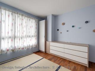 Hi+Design/Interior.Architecture. 寰邑空間設計 Cuartos infantiles de estilo moderno