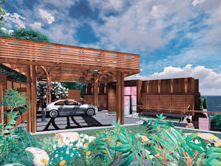 Вилла на море / Twisted house BOOS architects Дома в стиле минимализм