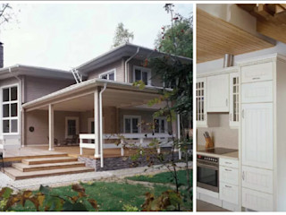 homify Wooden houses