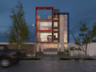CN y Arquitectos Multi-Family house Concrete