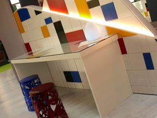 WELL & ART ROOM Studio Stefano Pediconi Camera da letto moderna