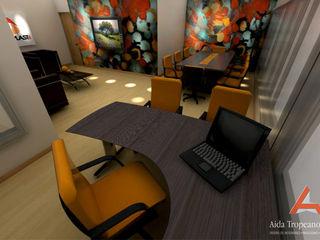 Aida tropeano& Asociados Modern Çalışma Odası Rengarenk