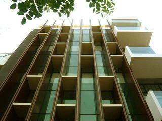 Simple Projects Architecture Office buildings Aluminium/Zinc Brown
