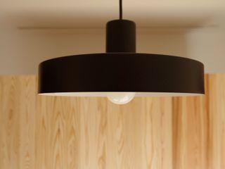柏市K邸一戸建リノベーション K+Yアトリエ一級建築士事務所 ダイニングルーム照明 金属 黒色