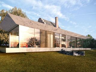 Glazed Extension for Dutch Gabled Property. HollandGreen 전원 주택