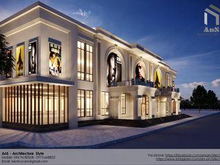 AnS - Architecture Style モダンなショッピングセンター