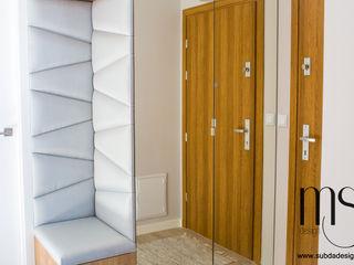 subdadesign Couloir, entrée, escaliers scandinaves