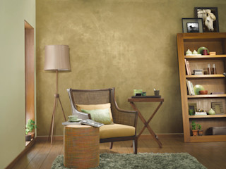 Papersky Studio Tropical style living room