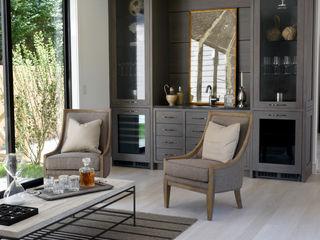 Plum Builders Modern living room Wood Grey