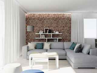 VIVINO Scandinavian style living room