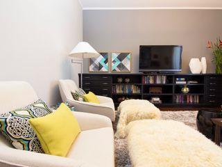 IZI HOME Interiores SalonMeble RTV Szary