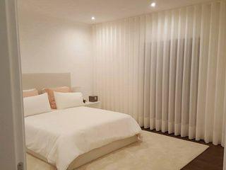 ROSA PURA HOME STORE Moderne Schlafzimmer Holzwerkstoff Weiß