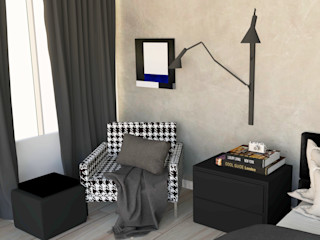 Patrícia Nobre - Arquitetura de Interiores Modern Bedroom