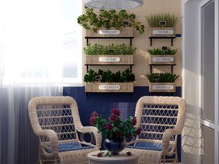 Студия интерьерного дизайна happy.design Country style conservatory