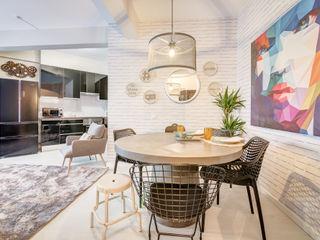 Santiago | Interior Design Studio Salle à manger industrielle