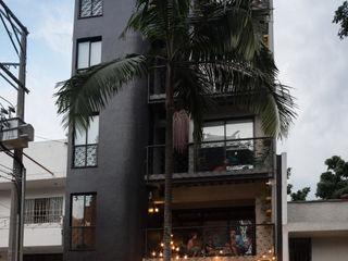 PLANTA BAJA ESTUDIO DE ARQUITECTURA Bar & Klub Modern