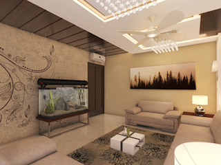 Residence Design Arch Point Living roomAccessories & decoration