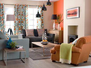 Spacio Collections غرفة المعيشةخزانات و أدراج جانبية حجر رملي Multicolored