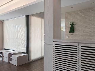 禾光室內裝修設計 ─ Her Guang Design Scandinavian style corridor, hallway& stairs
