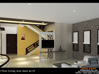 Home design Arch Point Modern living room