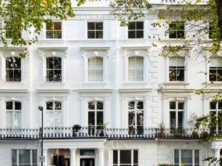 Westbourne Gardens, Notting Hill, London - W2 Brosh Architects Moderne Häuser Ziegel Weiß