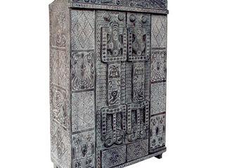 Guru-Shop BedroomWardrobes & closets Wood Black
