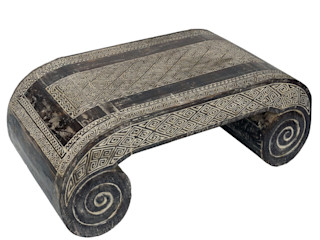 Guru-Shop Living roomSide tables & trays Wood Black