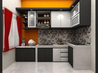 SUKAM STUDIO Nhà bếp phong cách tối giản