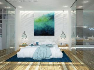 Minimalist interior design Tamriko Interior Design Studio Minimalist bedroom