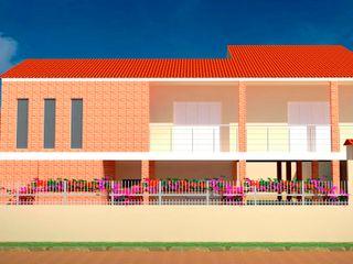 Fávero Arquitetura + Interiores Modern houses