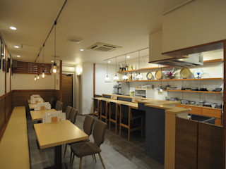 hacototo design room Gastronomie asiatique Bois Effet bois