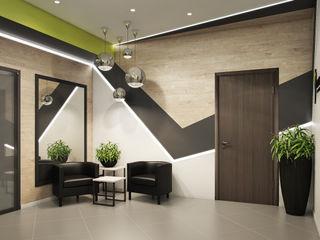 Визуализации вестибюля для FitnessPlaza_02 Alyona Musina Коммерческие помещения