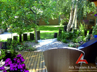 Aida tropeano& Asociados Klasik Bahçe Ahşap Yeşil