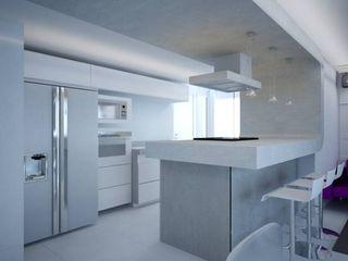 Reforma de apartamento de alto padrão PLANYTEC CONSTRUÇÕES E PROJETOS Cozinhas modernas