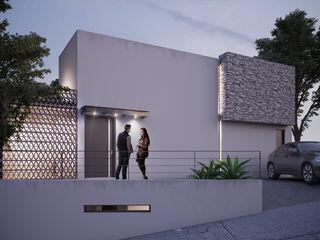 DELTA Minimalist house Concrete