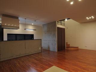 hacototo design room Salon moderne Bois Effet bois