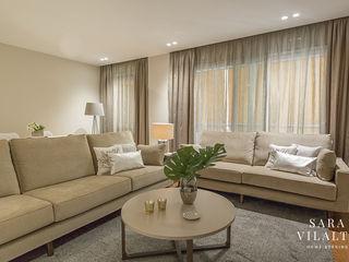 ALQUILER EN SANT GERVASI - DECORACIÓN HOME STAGING SV Home Staging Salones de estilo moderno
