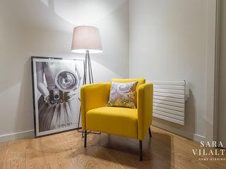 ALQUILER EN SANT GERVASI - DECORACIÓN HOME STAGING SV Home Staging Pasillos, vestíbulos y escaleras de estilo moderno