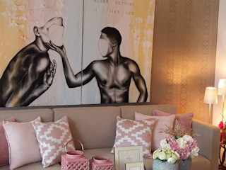 Project 3 ROSA PURA HOME STORE Moderne Wohnzimmer