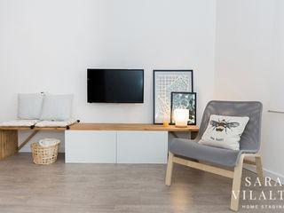 ALQUILER PARA ESTUDIANTES - DECORACIÓN - HOME STAGING SV Home Staging SalonesMuebles de televisión y dispositivos electrónicos
