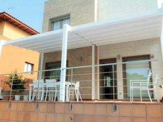 Tendals Egara Балкон и терраса в стиле модерн