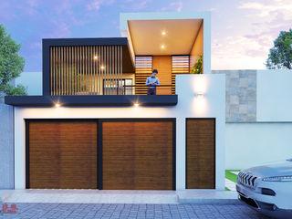 GRUPO ESCALA ARQUITECTOS Modern Houses