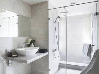 禾廊室內設計 Baños de estilo moderno