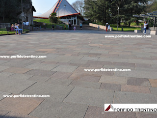PORFIDO TRENTINO SRL Floors Stone Brown
