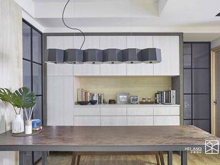台中-精銳 禾廊室內設計 餐廳 鐵/鋼