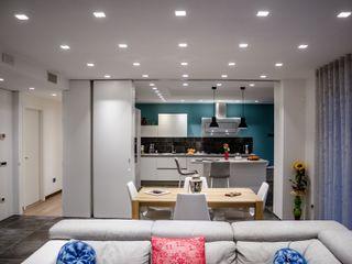 Spazi evolvibili Studio ARCH+D Cucina moderna
