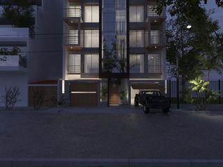 CN y Arquitectos Office buildings Reinforced concrete White